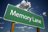 Memory Lane Road Sign